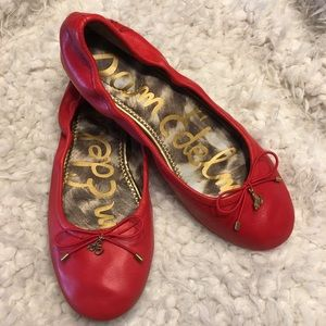 Sam Edelman Shoes - Sam Edelman Felicia Red Flats